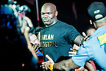 Alain Ngalani of Hong Kong arrives to the ring for his fight against Alexandre Machado of Brazil on 13 August 2016 at The Venetian Macao Cotai Arena in Macau, China. Photo by Marcio Machado / Power Sport Images
