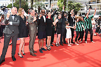 THE CAST OF THE FILM 'ZOMBILLENIUM' - RED CARPET OF THE FILM 'RODIN' AT THE 70TH FESTIVAL OF CANNES 2017