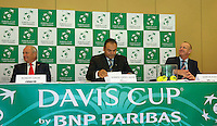 Austria, Kitzbuhel, Juli 16, 2015, Tennis, Davis Cup, Draw, Martin Koek (R)<br /> Photo: Tennisimages/Henk Koster