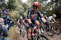 John Degenkolb (DEU/Lotto-Soudal) up the mean (and newly introduced) Moskesstraat cobbles<br /> <br /> 60th De Brabantse Pijl 2020 - La Flèche Brabançonne (1.Pro)<br /> 1 day race from Leuven to Overijse (BEL/197km)<br /> <br /> ©kramon