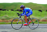 St Mary's College under-16 girls in action during the NZ Schools Road Cycling championship day one team time trials at Koputaroa Road, Levin, New Zealand on Saturday, 27 September 2014. Photo: Dave Lintott / lintottphoto.co.nz