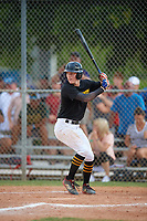 Justin Lehman (33) during the WWBA World Championship at Terry Park on October 9, 2020 in Fort Myers, Florida.  Justin Lehman, a resident of Fort Mill, South Carolina who attends Nation Ford, is committed to Army.  (Mike Janes/Four Seam Images)