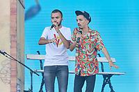 bigflo & oli au festival des vieilles charrues le 22  juillet 2018.<br /> © JOLIVEL/ DALLE