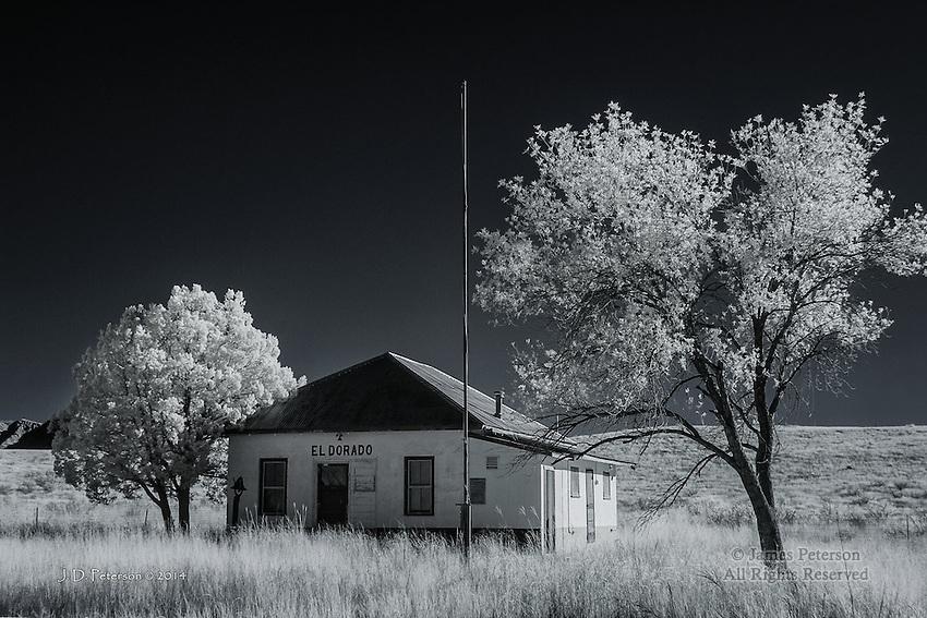El Dorado School, Rural Cochise County, Arizona (Infrared)