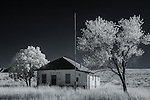 El Dorado School, Rural Cochise County, Arizona (Infrared)