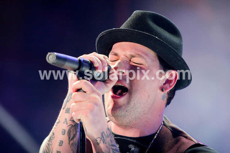 **ALL ROUND PICTURES FROM SOLARPIX.COM**.**SYNDICATION RIGHTS FOR UK, SPAIN, PORTUGAL, AUSTRALIA, S.AFRICA & DUBAI (U.A.E) ONLY**.Good Charlotte performs at  Sunfest 2008, Day 2, Downtown West Palm Beach - West Palm Beach, Florida, USA. 1st May 2008..JOB REF: 6320 PHZ/A. Gilbert    DATE: 01_05_2008.**MUST CREDIT SOLARPIX.COM OR DOUBLE FEE WILL BE CHARGED* *UNDER NO CIRCUMSTANCES IS THIS IMAGE TO BE REPRODUCED FOR ANY ONLINE EDITION WITHOUT PRIOR PERMISSION*