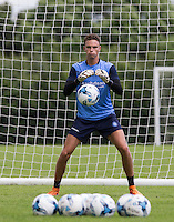during the Wycombe Wanderers 2016/17 Pre Season Training Session at Wycombe Training Ground, High Wycombe, England on 1 July 2016. Photo by Andy Rowland / PRiME Media Images.