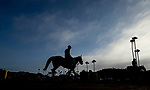 AUGUST 27, 2021: Scenes from wokrouts at Del Mar Fairgrounds in Del Mar, California on August 27, 2021. Evers/Eclipse Sportswire/CSM
