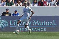 Carson, CA - Sunday, February 8, 2015: Gyasi Zardes (20) of the USMNT. The USMNT defeated Panama 2-0 during an international friendly at the StubHub Center
