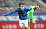 06.03.2021 Rangers v St Mirren: Ianis Hagi celebrates his goal