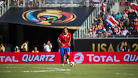 Orlando, Florida - Saturday, June 04, 2016: Costa Rican midfielder Celso Borges (5) during a Group A Copa America Centenario match between Costa Rica and Paraguay at Camping World Stadium.
