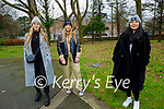 Enjoying a stroll in the Tralee Town park on Sunday, l to r: Donna Bonjaku, Olivera Ivkovic and Aziza Asmatullayeva