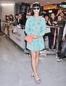 Singer Katy Perry Arrives in Japan