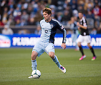 Matt Besler.  Sporting Kansas City defeated Philadelphia Union, 3-1. at PPL Park in Chester, PA.