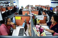 PHILIPPINES, Manila, KPO Knowledge Process Outsorcing, callcenter von Global Learning working for australian clients  / PHILIPPINEN, Manila, KPO Knowledge Process Outsorcing, callcenter von Global Learning arbeitet fuer australische Kunden