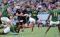25th September 2021; Townsville, Gold Coast, Australia;  David Havili.<br /> All Blacks versus Springboks. The Rugby Championship. 100th Rugby Union test match between New Zealand and South Africa.