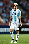 Emanuel Mammana of Argentina during the International Test match between Argentina and Singapore at National Stadium on June 13, 2017 in Singapore. Photo by Marcio Rodrigo Machado / Power Sport Images