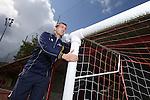 McDonalds Community Football Awards 2014.<br /> Andy Jones - Ton Pentre FC<br /> 11.08.14<br /> ©Steve Pope-SPORTINGWALES