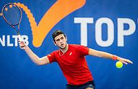 Amstelveen, Netherlands, 17  December, 2020, National Tennis Center, NTC, NK Indoor, National  Indoor Tennis Championships,   :  Thijmen Loof (NED) <br /> Photo: Henk Koster/tennisimages.com