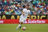 Orlando, FL - Monday June 06, 2016: Bolivia midfielder Fernando Saucedo (20) during a Copa America Centenario Group D match between Panama (PAN) and Bolivia (BOL) at Camping World Stadium.