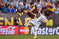Action photo during the match Uruguay vs Venezuela at Lincoln Financial Field Stadium Copa America Centenario 2016. ---Foto  de accion durante el partido Uruguay vs Venezuela, En el Estadio Lincoln Financial Field Partido Correspondiante al Grupo - C -  de la Copa America Centenario USA 2016, en la foto:<br /> --- 09/06/2016/MEXSPORT/Osvaldo Aguilar.