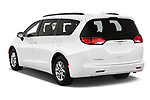 Car pictures of rear three quarter view of 2020 Chrysler Voyager LX 5 Door Minivan Angular Rear