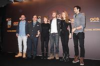 JULIEN ARRUTI, DIDIER BOURDON, NATHALIE BAYE, PHILIPPE LACHEAU, ELODIE FONTAN ET TAREK BOUDALI - 20EME FESTIVAL INTERNATIONAL DU FILM DE COMEDIE DE L'ALPE D'HUEZ 2017