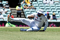 10th January 2021; Sydney Cricket Ground, Sydney, New South Wales, Australia; International Test Cricket, Third Test Day Four, Australia versus India; Rohit Sharma of India fields the ball