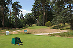 """St Georges Hill Golf Club, Cobham near Weybridge Surrey Uk. Gold Course runs across Camp Hill Road where the Diggers in 1649 formed a settlement and who's agends was to the """"levelling of all estates"""" ie the abandonment of all property rights."""
