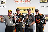 Winners  #77 Compass Racing, Audi RS3 LMS TCR, TCR: Britt Casey Jr, Tom Long