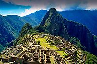 Machu Picchu and Cuzco's architectural wonders of Peru.