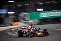 27th March 2021; Sakhir, Bahrain; F1 Grand Prix of Bahrain, Qualifying sessions;  33 VERSTAPPEN Max (nld), Red Bull Racing Honda RB16B during Formula 1 Gulf Air Bahrain Grand Prix 2021 qualifying takes pole