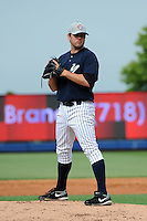 Staten Island Yankees pitcher Preston Claiborne (43) during first team workout at Richmond County Bank Ballpark at St. George in Staten Island, NY June 15, 2010.  Photo By Tomasso DeRosa/ Four Seam Images