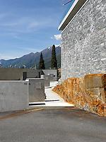 Switzerland, Ticino, Ascona, Residenza Marenca, Canevascini Corecco, Modern Architecture