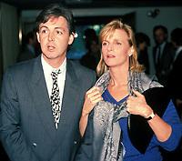 Paul McCartney with wife Linda McCartney 1990<br /> Photo by Adam Scull/PHOTOlink