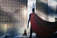 BATMAN V SUPERMAN L'AUBE DE LA JUSTICE, 2016 - EXPOSITION DC COMICS 'L'AUBE DES SUPER-HEROS' A ART LUDIQUE-LE MUSEE, PARIS, FRANCE, LE 31/03/2017.