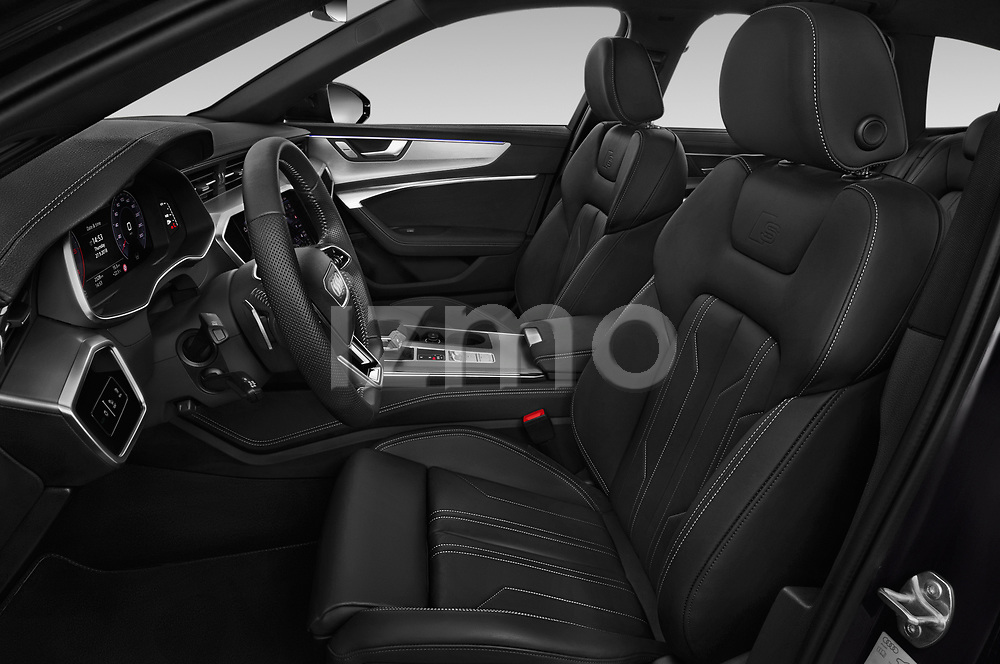Front seat view of a 2019 Audi A6 Avant Sport 5 Door Wagon front seat