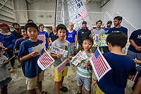 USAILING team Fujisawa meet and greet © SAILING ENERGY / USSAILING<br /> 23 August, 2019.