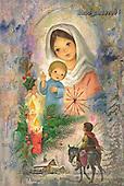 Vicki, HOLY FAMILIES, paintings, BRTOCH08700,#XR# Weihnachten, Navidad, illustrations, pinturas
