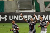 RIO DE JANEIRO (RJ), 09/09/2020 - FLUMINENSE - FLAMENGO - Digão, do Fluminense, comemora gol. Partida entre Fluminense e Flamengo, válida pela 9ª rodada do Campeonato Brasileiro 2020, realizada no Estádio do Maracanã, nesta quarta-feira (09).