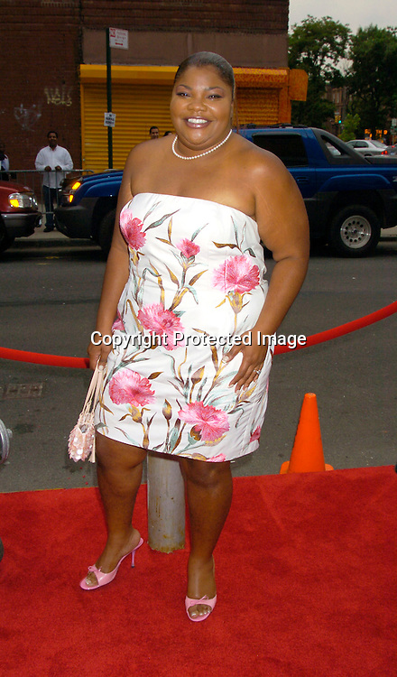 """Mo' Nique..at the 8th Annual Urbanworld Film Festival ' s opening ..night of """" Collateral """" on August 4, 2004 at the  Magic Johnson Theatre in Harlem.                                                    Photo by Robin Platzer, Twin Images"""