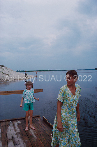 Sol'vychegodsk, Russia<br /> July, 1998<br /> <br /> In the village where the Stganov family began by the Balgovehchenck  Cathedral.