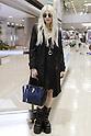 Taylor Momsen arrives at Narita International Airport