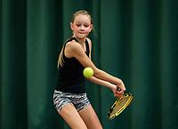 Wateringen, The Netherlands, November 27 2019, De Rhijenhof , NOJK 12/16 years, Mies Hoeben (NED)<br /> Photo: www.tennisimages.com/Henk Koster
