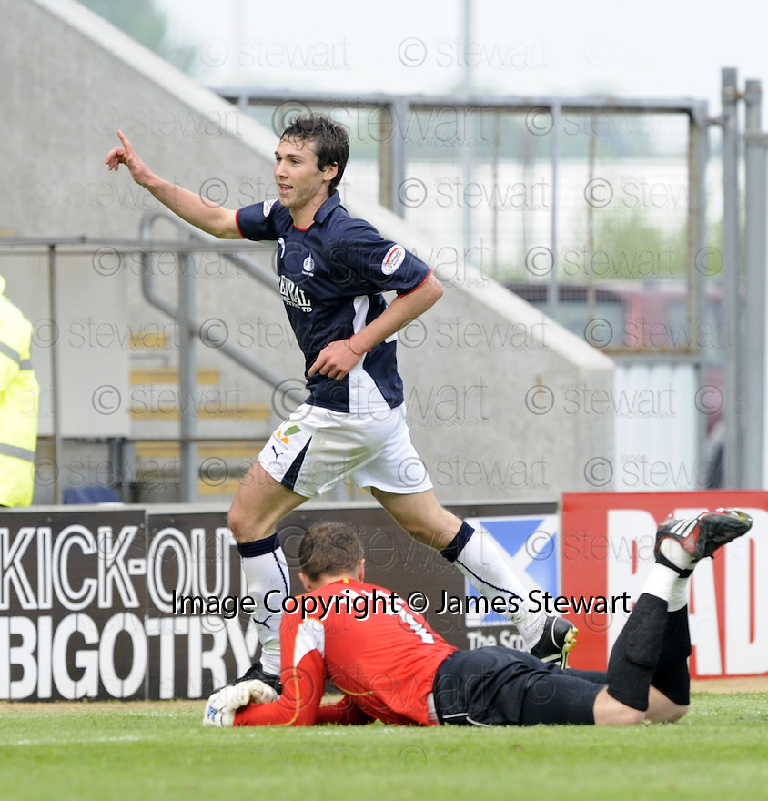 10/05/2008   Copyright Pic: James Stewart.File Name : sct_jspa09_falkirk_v_ict.CARL FINNIGAN CELEBRATES AFTER HE SCORES FALKIRK'S SECOND.James Stewart Photo Agency 19 Carronlea Drive, Falkirk. FK2 8DN      Vat Reg No. 607 6932 25.Studio      : +44 (0)1324 611191 .Mobile      : +44 (0)7721 416997.E-mail  :  jim@jspa.co.uk.If you require further information then contact Jim Stewart on any of the numbers above........
