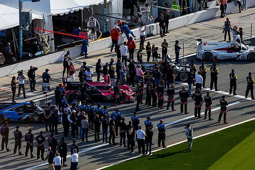 #60: Meyer Shank Racing w/Curb-Agajanian Acura DPi, DPi: Olivier Pla, AJ Allmendinger, Dane Cameron, Juan Pablo Montoya, Pre-Race