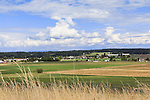 Ebey's Prairie National Historic Preserve provides spectacular views west toward the Cascade Mountains.