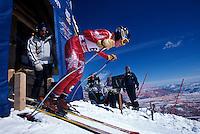 Trail racers at Snow Basin Resort
