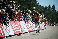 Richie Porte (AUS/BMC) charging towards the finish<br /> <br /> stage 12: Montpellier - Mont Ventoux (shortened stage due to wind until Chalet Reynard; 178km)<br /> 103rd Tour de France 2016