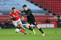 Ryan Hardie of Plymouth Argyle during Charlton Athletic vs Plymouth Argyle, Emirates FA Cup Football at The Valley on 7th November 2020